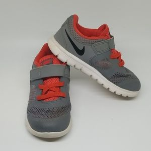 Nike Gray and Orange Sneakers